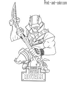 Fortnite | FORTNITE COLORING PAGES | Pinterest | Teckningar