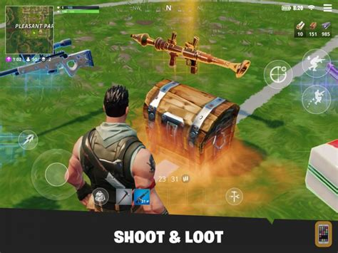 Fortnite Mobile on PC with BlueStacks Android Emulator