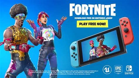 Fortnite para Nintendo Switch llega GRATIS