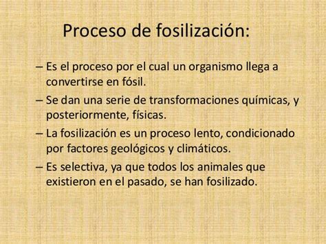 Fosilización   Escuelapedia   Recursos Educativos