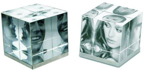 Foto: Cubo Foto Cristal 3D