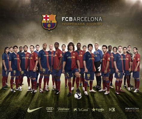 Foto   Fondo de pantalla FC Barcelona 2008/2009