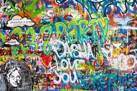 Foto gratis: Graffiti, Muro De John Lennon, Muro   Imagen ...