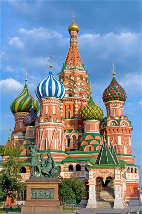 Foto La Cattedrale di San Basilio a Mosca   366x550 ...