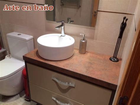 Foto: Mueble de Baño Lacado con Lavabo sobre Encimera de ...