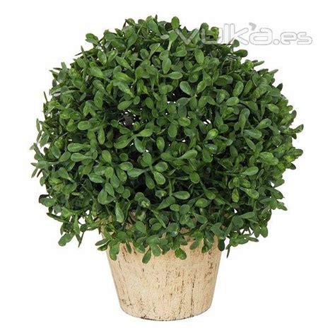 Foto: Plantas artificiales. Planta bola artificial hojas ...