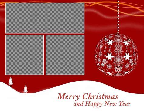 Fotomontaje de Navidad para subir tres fotos   Fotoefectos
