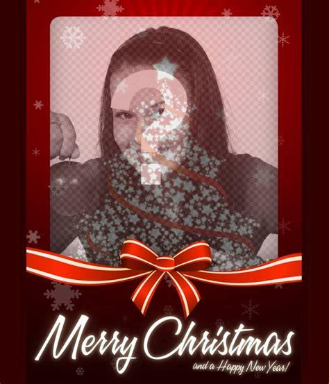 Fotomontaje de tarjeta de Navidad para subir tu foto ...