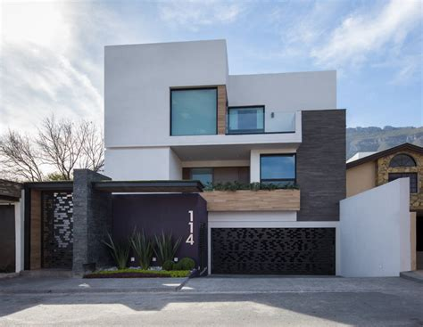 Fotos de casas de estilo moderno : fachada | Fachadas ...