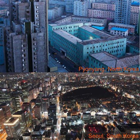 Fotos de grandes diferencias entre Corea del Norte/Sur ...