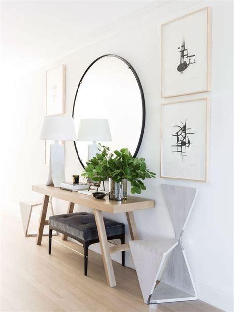 Fotos de recibidores con espejo   Recibidores decorados ...