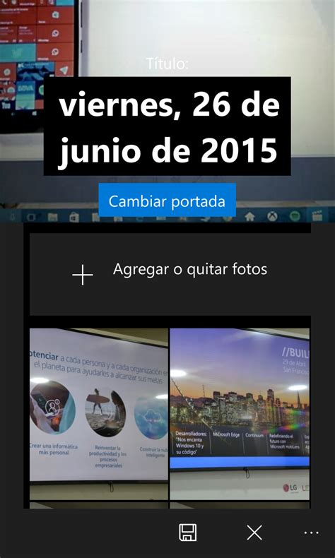 Fotos de Windows 10 ya permite crear albumes desde la ...