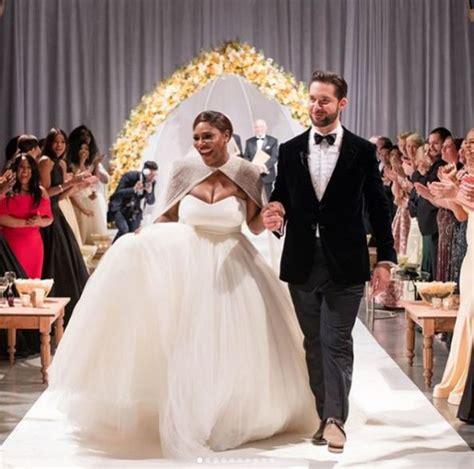 Fotos do casamento de Serena Williams são divulgadas ...