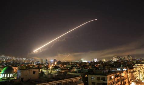 Fotos: El ataque de Estados Unidos, Reino Unido y Francia ...