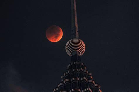 Fotos: El eclipse lunar con luna de sangre 2018, en ...