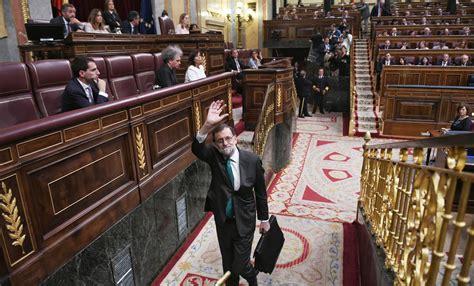 Fotos: La moción de censura del PSOE a Mariano Rajoy, en ...