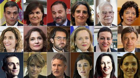 Fotos: Los ministros del nuevo Ejecutivo de Pedro Sánchez ...