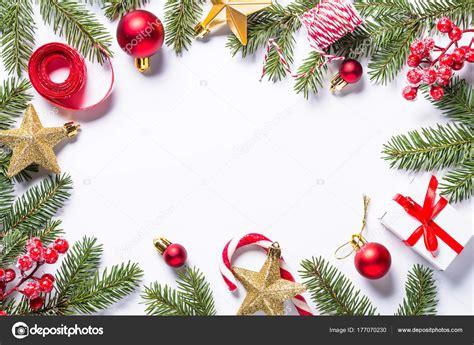 Fotos: marcos navideños   Fondo de marco de Navidad con ...