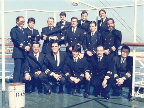 """Fotos marineras. Oficiales del buque """"Las Palmas de Gran ..."""