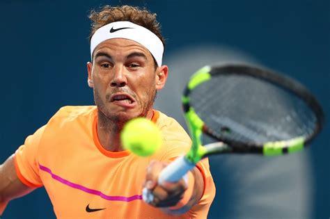 Fotos: Rafa Nadal, Brisbane 2017 - Tenis Web