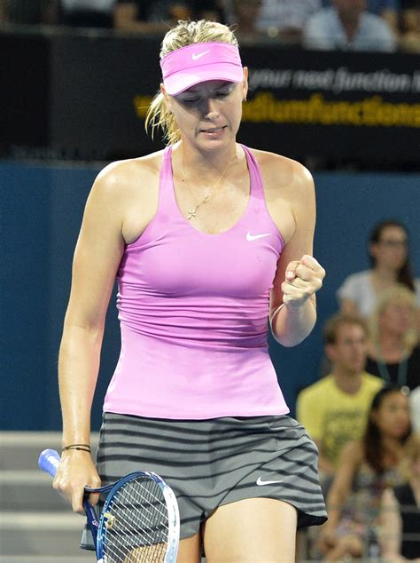 Fotos: Sharapova, Brisbane 2014   Página 3 de 7   Tenis Web