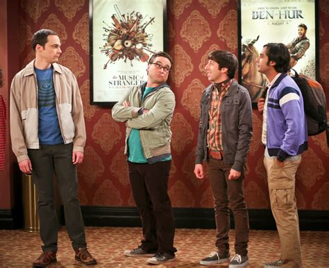 Four actors playing nerdy types on CBS comedy 'Big Bang ...