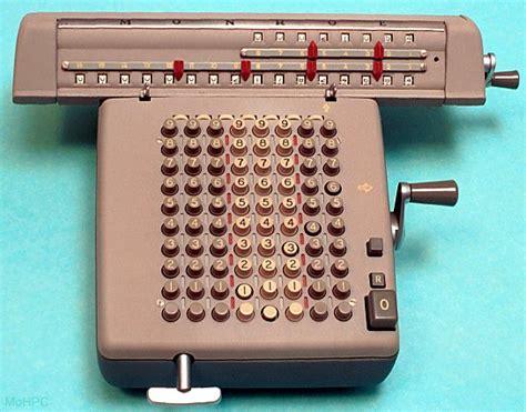 Four Function Mechanical Calculators