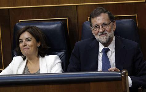 Fracasa la moción de censura a Rajoy