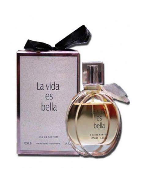 Fragrance World La Vida Es Bella For Women EDP   100ml ...