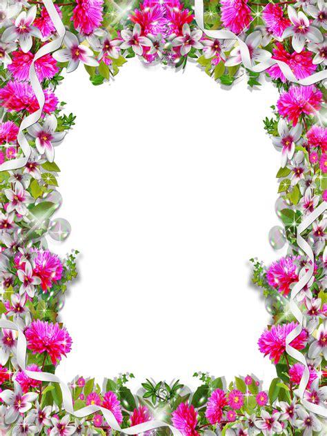 Frames PNG floridos e coloridos   Imagens Png fundo ...