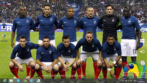 France National Football Team 2014 Theme For Windows 7 And ...