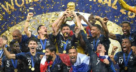Francia Campeón del Mundial de Rusia: Cómo una selección ...