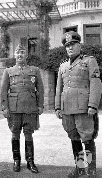 Francisco Franco and Benito Mussolini (1) by YamaLama1986 ...