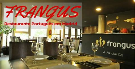 Frangus, Restaurante português em Madrid   BLPM