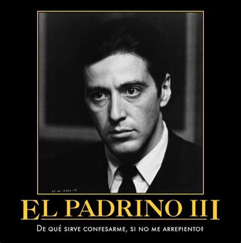 Frase celebre del Al Pacino en la pelicula El Padrino III ...