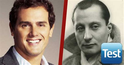 ¿Frase de Albert Rivera o de José Antonio Primo de Rivera?