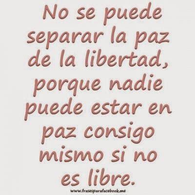 Frases Alusiva A La Paz | una frase relacionada con la paz ...