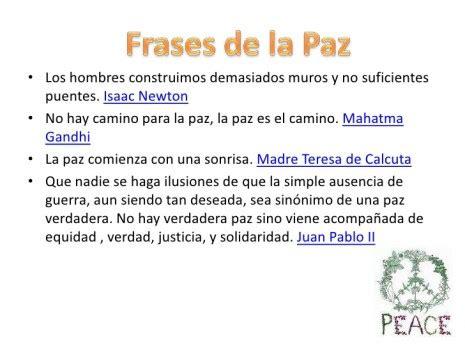 Frases célebres del Día de la Paz y la No violencia ...
