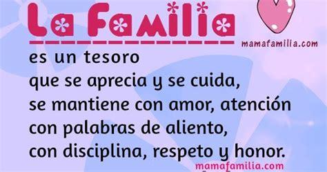 Frases de Aliento Cortas de La Familia - Mamá y Familia