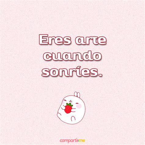 Frases de amor cortas con imágenes de conejitos kawaii con ...