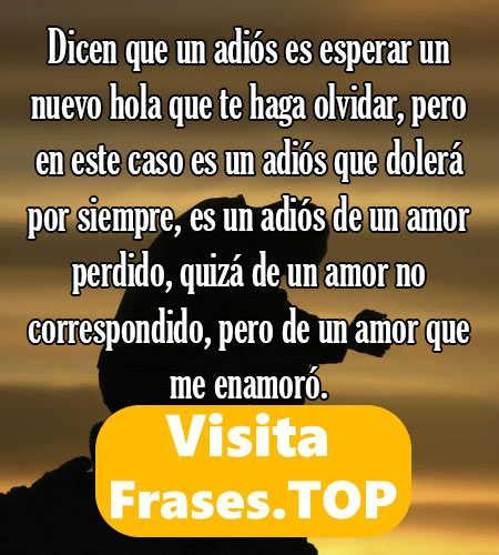 Frases de Amor no Correspondido Perdido y de Fracaso que ...