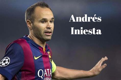 Frases de Andrés Iniesta - Frases de Futbolistas