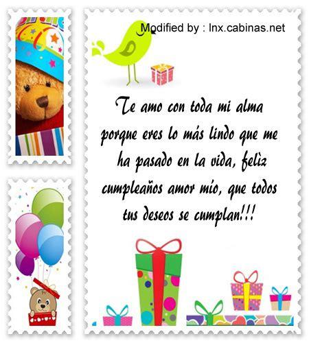 Frases de cumpleaños para mi amor | Saludos de cumpleaños ...