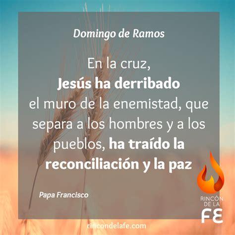 Frases de Domingo de Ramos | Rincón de la Fe