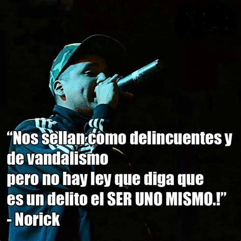 Frases de Norick   Frases de canciones
