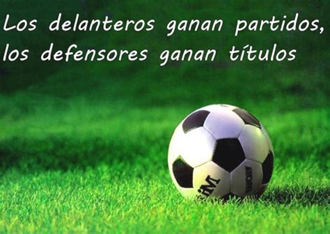 Frases del fútbol