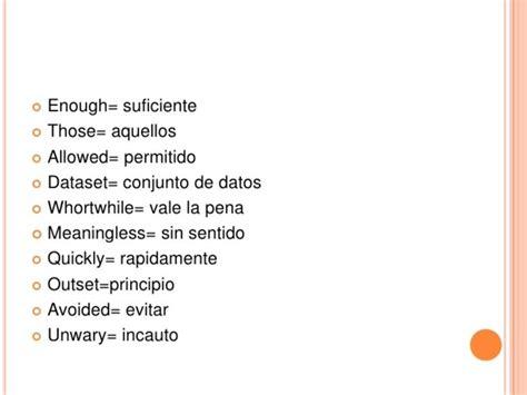 Frases En Ingles Traducidas Al Español