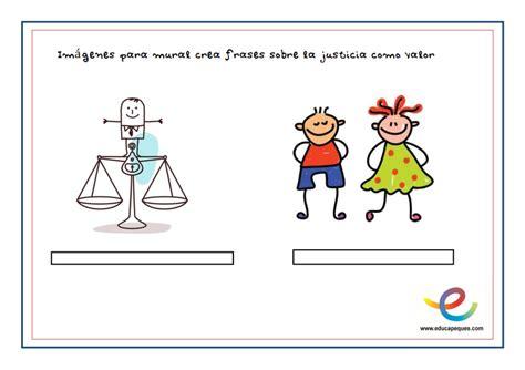 Frases infantiles sobre el valor de la justicia en el mundo