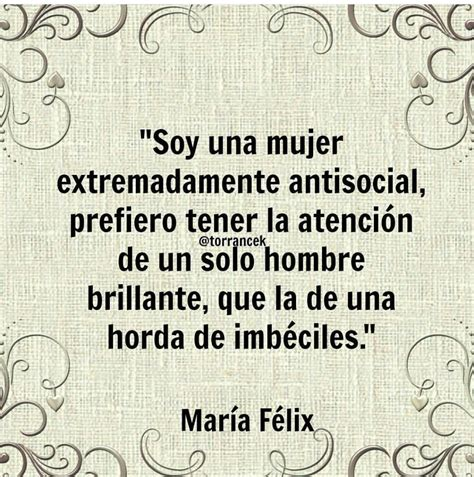 Frases insuperables de María Félix – mujerkiik.com