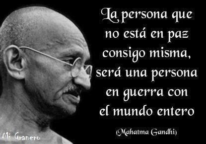 Frases motivadoras y reflexivas de Mahatma Gandhi para ...